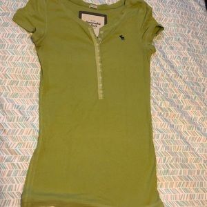 Abercrombie & Fitch green top